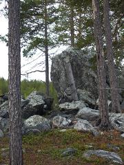 Карелия, Белое море пешком, река Мурашева, стоянка