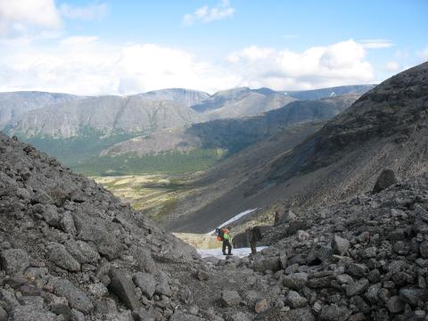 Перевал Чорргор. Хибины