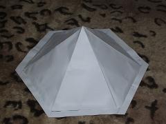 Тент палатка шатер пирамида макет