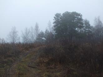 Река Ока. Туман